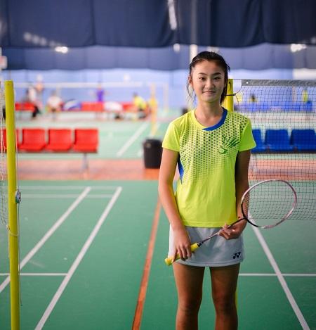 Skybadmin-badminton-training